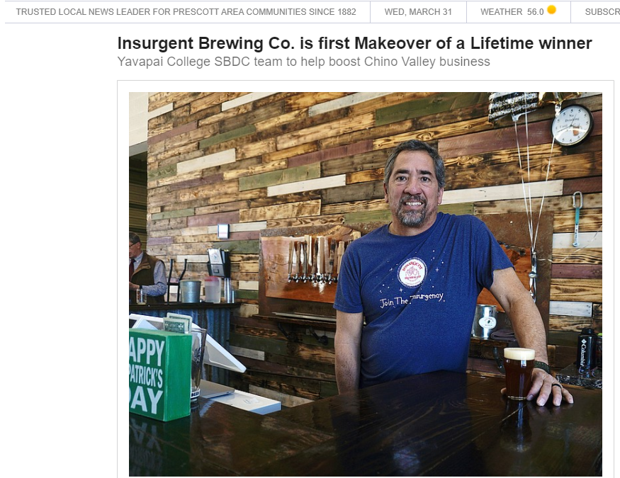 Insurgent Brewing Co. is first Makeover of a Lifetime winner