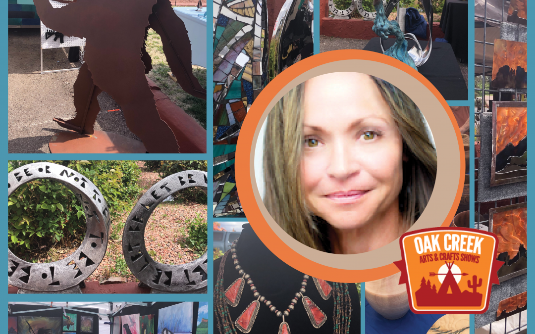 An interview with Marlo Johnson, Owner of Oak Creek Arts and Crafts Show and participant in Yavapai College SBDC's Small Business Makeover Program